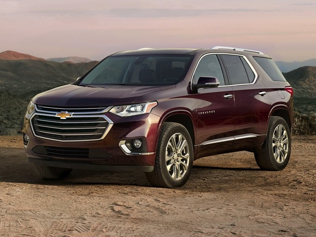 Top 3 SUVs from Chevrolet in 2020